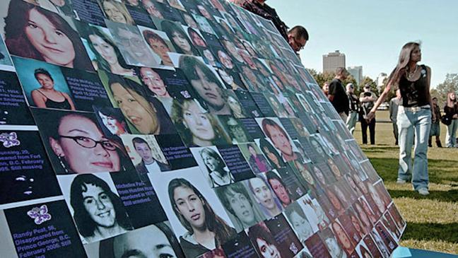 Murdered, Missing Women rally in Ottawa