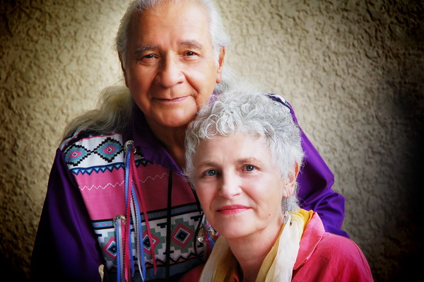 Larry Loyie and Constance Brissenden