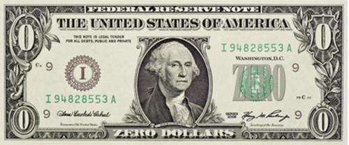 zero-dollar-bill